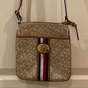 Tommy Hilfiger Crossbody Mini Letter Messenger Bag